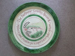 Dartmoor Society Award plate